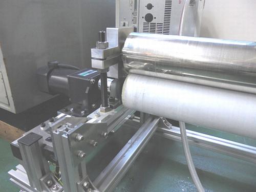 冷却ロールの冷却試験実施状況