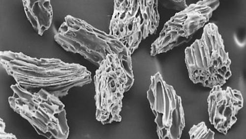 パミス電子顕微鏡写真